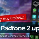 How to update ASUS Padfone 2 Firmware