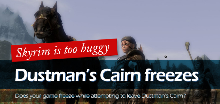 Skyrim Dustman's Cairn